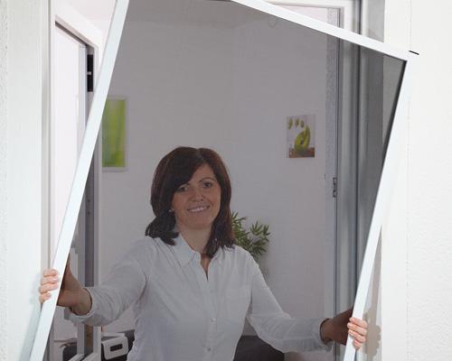 fensterbausatz master slim mit pollenschutzgewebe hecht international. Black Bedroom Furniture Sets. Home Design Ideas