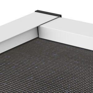 insektenschutz f r fenster master slim pollenschutz detail 1 hecht international. Black Bedroom Furniture Sets. Home Design Ideas
