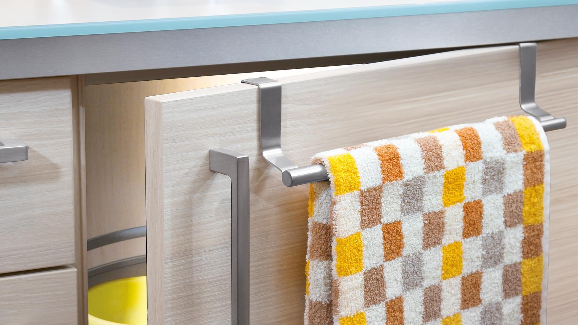Handtuchhalter küche ausziehbar edelstahl montage wasserhahn
