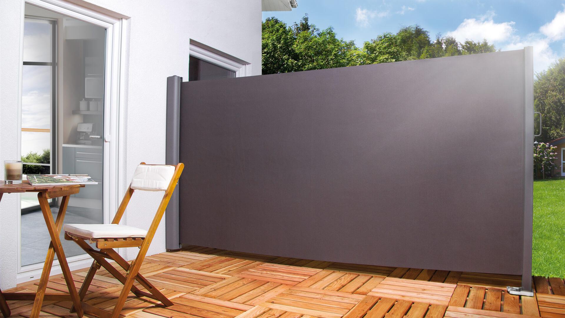 seitenmarkise hecht international. Black Bedroom Furniture Sets. Home Design Ideas