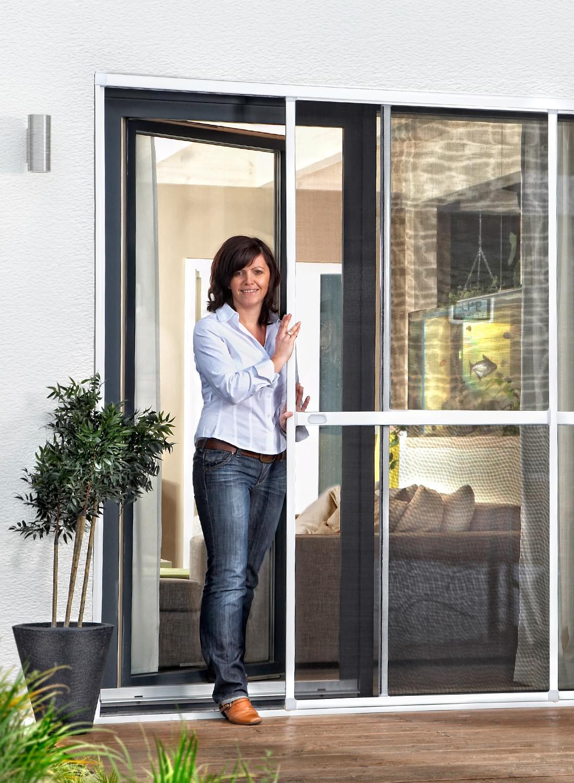 insektenschutz doppelschiebet re hecht international. Black Bedroom Furniture Sets. Home Design Ideas