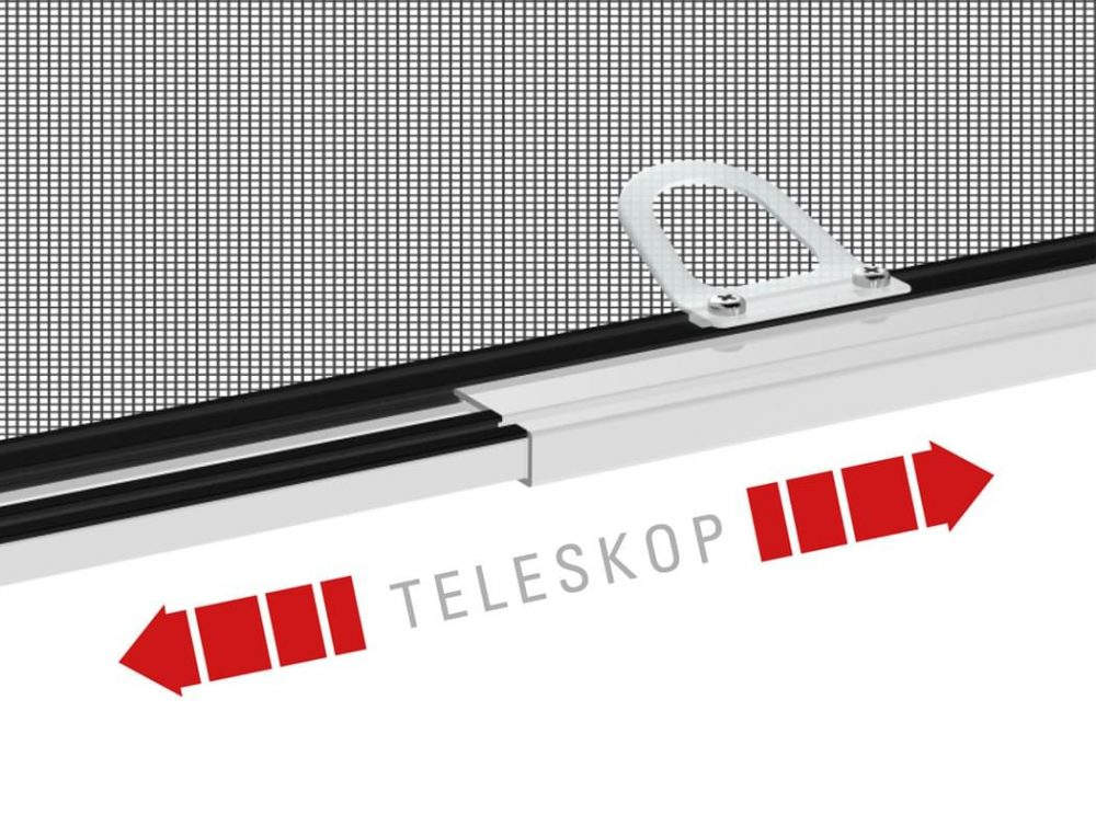 Insektenschutz Teleskopfenster hecht international GmbH