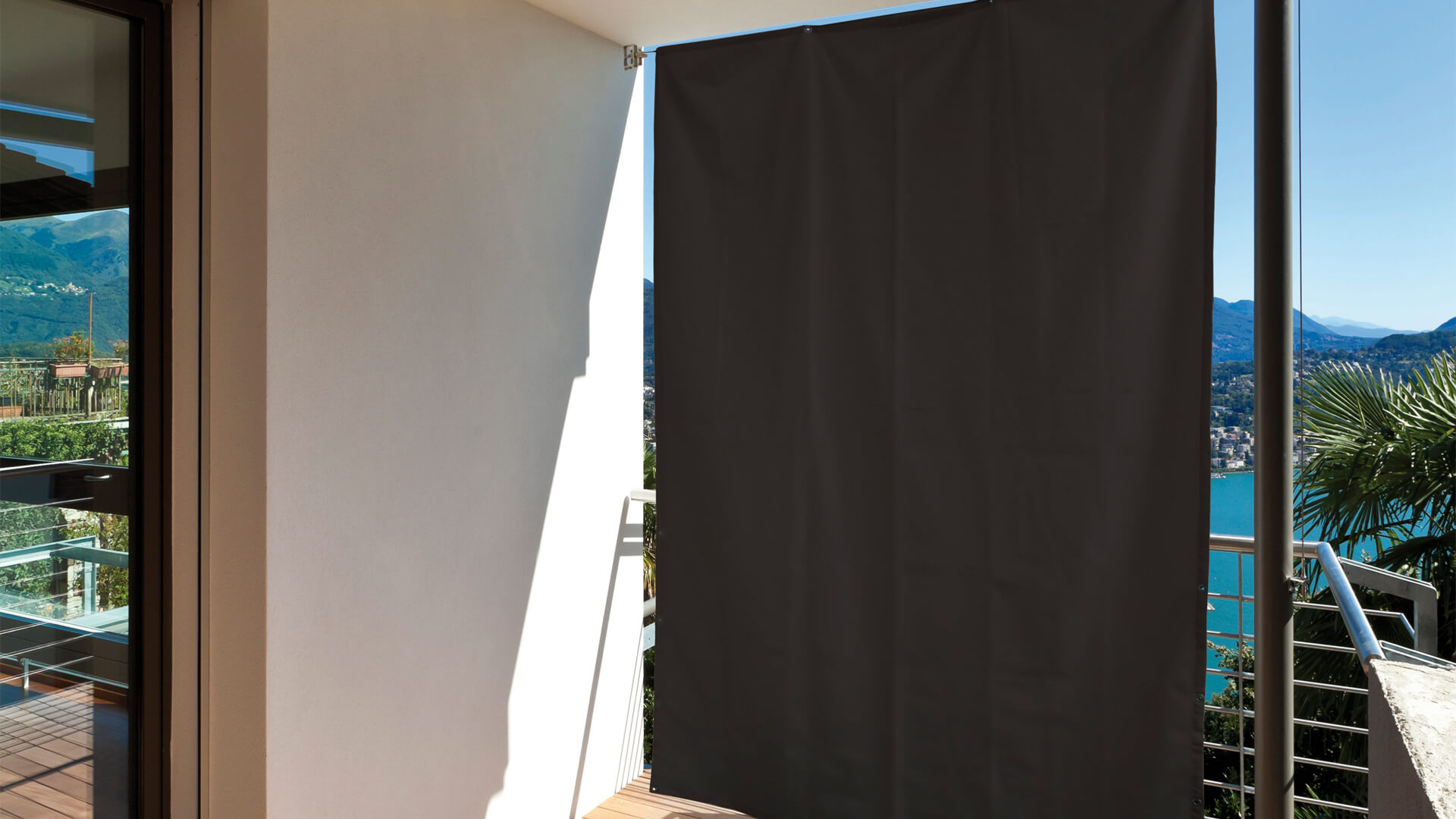 vertikaler sonnenschutz anthrazit hecht international. Black Bedroom Furniture Sets. Home Design Ideas